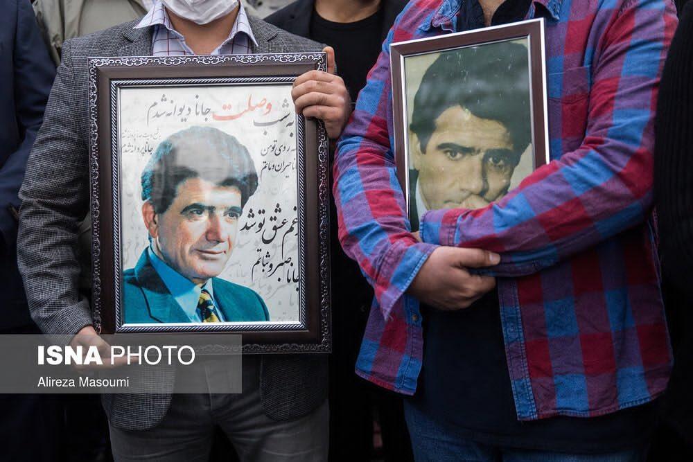 محمدرضا شجریان در خاک آرمید