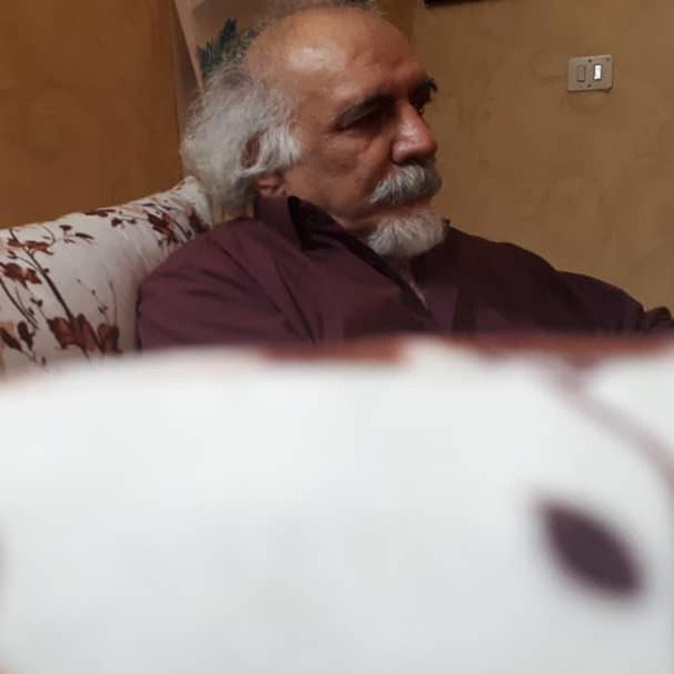 محمدقاسم زاده در سوگ فرزند خود نشست