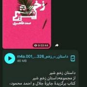 داستان زخم شیر را در کانال مجله ادبی نوپا بشنوید