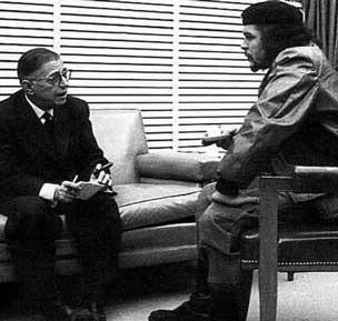 دیدار چه گوارا و سارتر